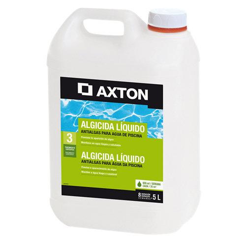 Algicida líquido para piscinas axton en bidón 5l