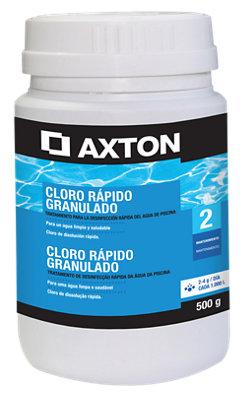 Cloro rápido AXTON granulado 2 kg