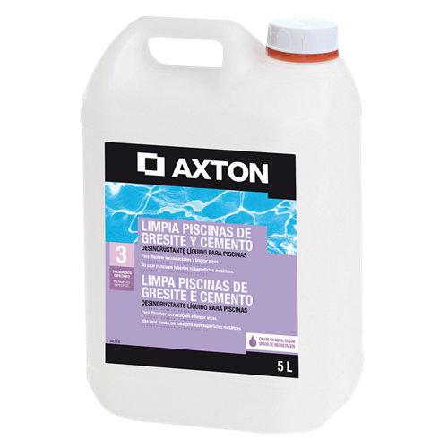 Limpiador axton gresite/cemento de 5 l