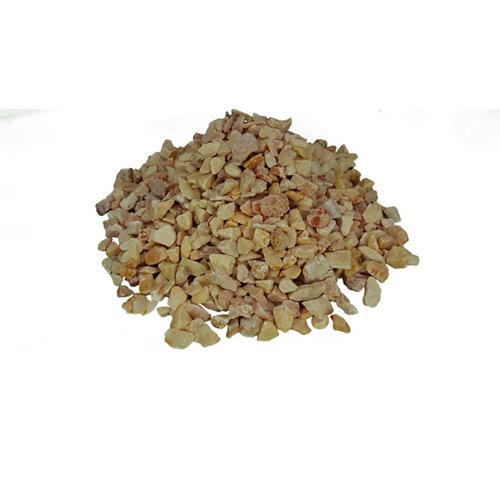 Saco de piedra natural triturada rosa 20kg 10 y 15 mm