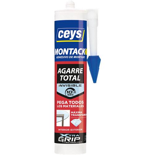 Adhesivo de montaje montack transparente 315 gr