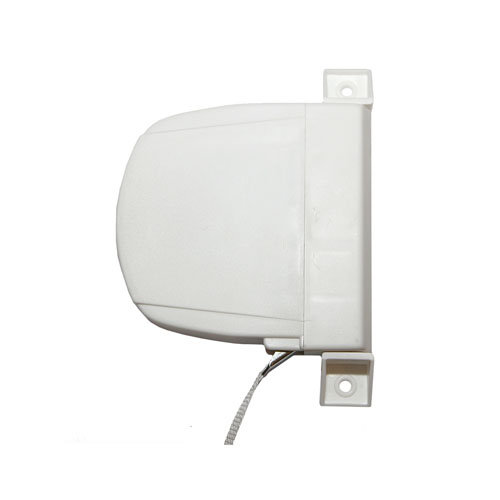 Recogedor para persiana de pvc blanco de 32x175x130 mm