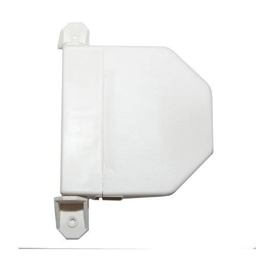 Recogedor para persiana de pvc blanco de 40x200x145 mm