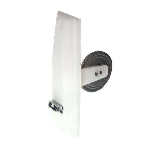 Recogedor para persiana de pvc blanco de 62x200x115 mm
