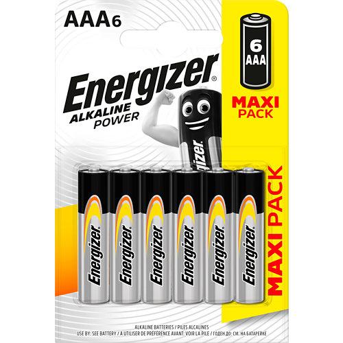 Pack de 4 pilas alcalinas energizer lr03 aaa 1,5v