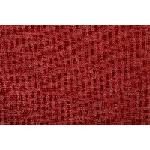 Tela en bobina roja poliéster ancho 280cm