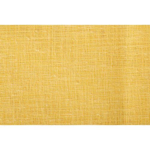 Tela en bobina amarilla poliéster ancho 280cm