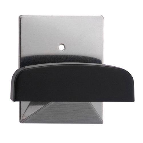 3 colgador adhesivo de acero de 40x52 mm
