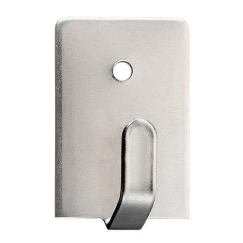 4 colgador adhesivo de acero de 18x28 mm