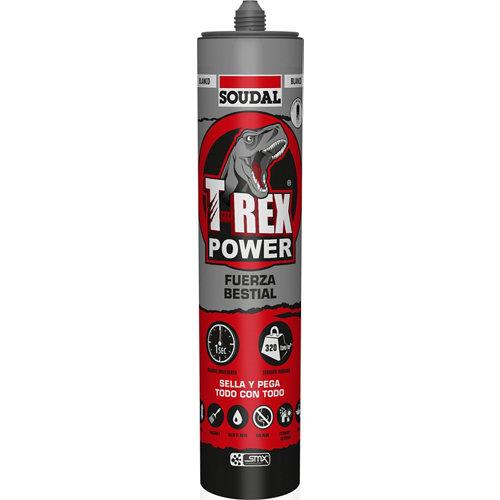 Adhesivo sellador t-rex power blanco 0,29l