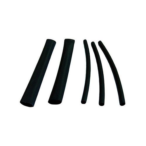 Bolsa de 10 fundas termoretráctiles negra de 0,25-1 mm²
