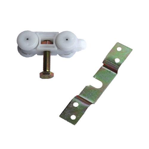 Kit de ruedas de puerta corredera de plástico y puertas de kg máx