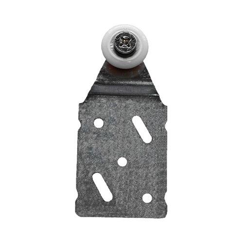 Montura guía de puerta corredera para armarios de aluminio y 45 kg máx
