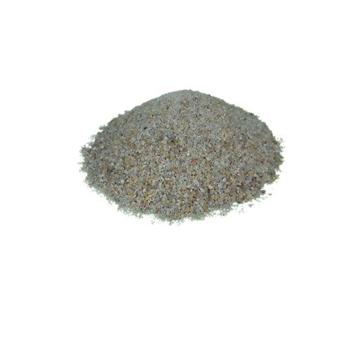 Saco 20 kg silice para jardín o piedra decorativa, grano 0,5/1 mm