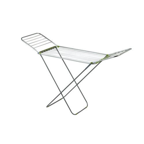 Tendedero de alas de aluminio anodizado de 54.5x130x1.7 cm