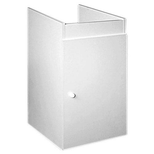 Mueble bajo de baño lavandería blanco 40x79x56 cm