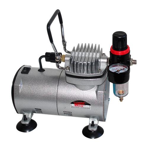 Compresor sin aceite wuto 7921 ca de 0.4 cv y 20l de depósito