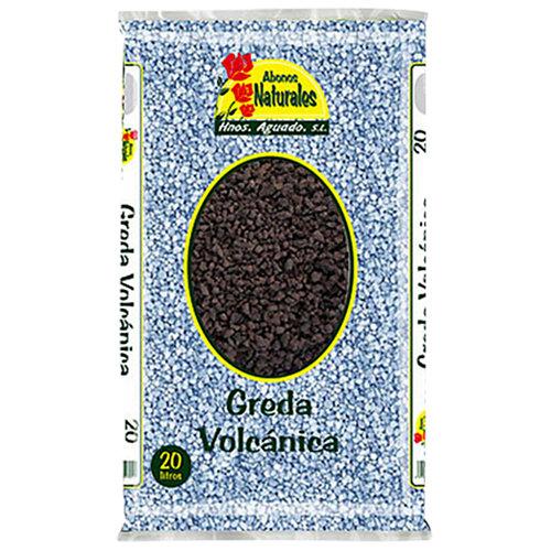 Greda volcánica saco de piedra de lava hnos. aguado 20l