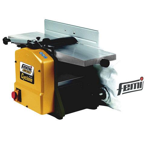 Cepillo estacionario femi 1500 w con anchura de cepillado de 210 mm