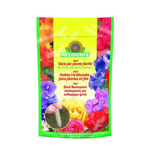 Abono eco palitos plantas en flor neudorff 40 unidades