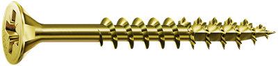 Pack 100 tornillos para madera de acero de 3x16 mm