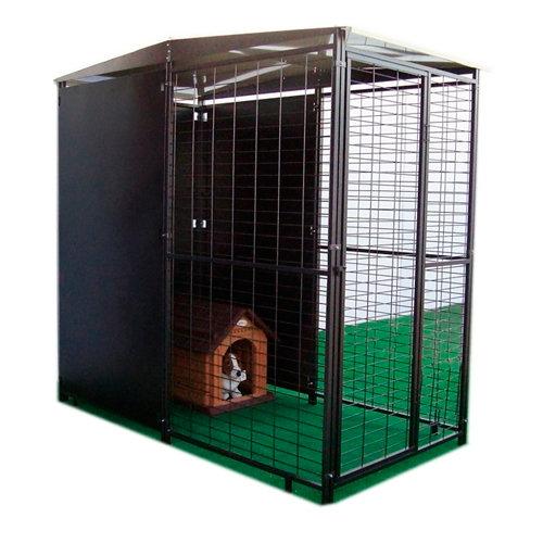 Kit metálico parque para perros basic plus 100x200 cm