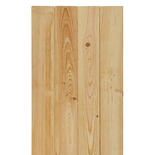 Revestimiento de pino montero natural 14x2,1x240 cm