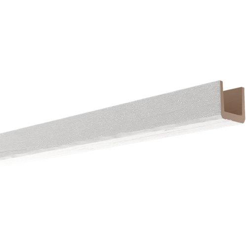 Viga en color blanco de 10 cm x 10 cm x 2 m