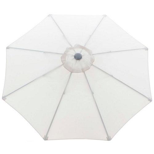 Toldo para parasol de poliéster beige de 250x250 cm