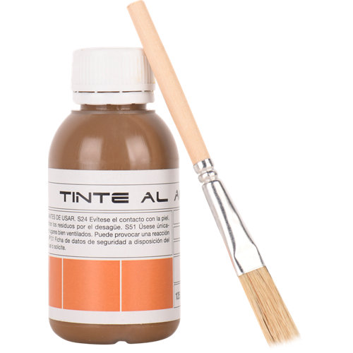 Tinte para madera al aguamarrón 0.1 kg nmc