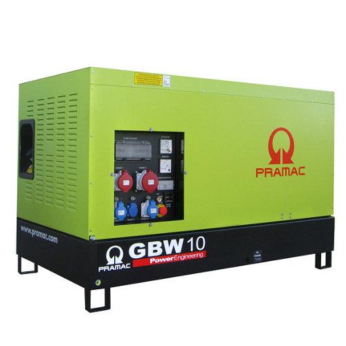 Generador pramac gbw10y mcp diésel de 6800 w