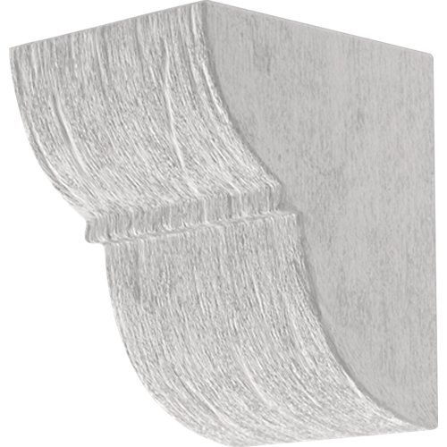 Ménsula blanco de 17,5 x 23,5 x 17,5 cm