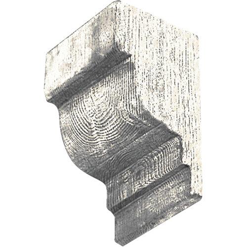 Ménsula blanco de 11 x 14,5 x 6,5 cm