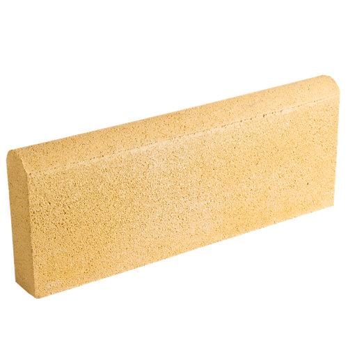 Bordillo redondo castellón 20x50 cm crema