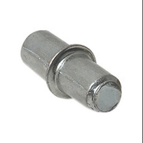 16 soportes de balda redondos de acero
