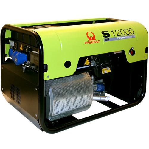 Generador pramac 12000 gasolina sin plomo de 9100 w