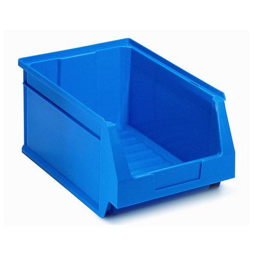 Gaveta de plástico en azul encajable de 21.6x15.5x33.6 cm