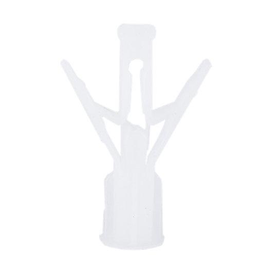 5 tacos para material hueco de nailon de 47 mm y 10 mm de ø