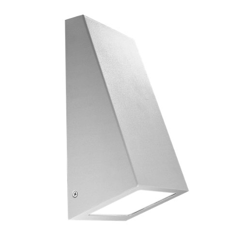 Aplique de exterior gris forlight karen big