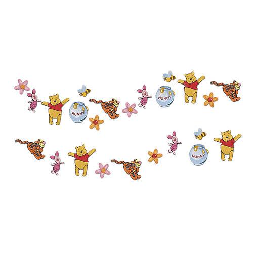 Stickers mini foam winnie the pooh