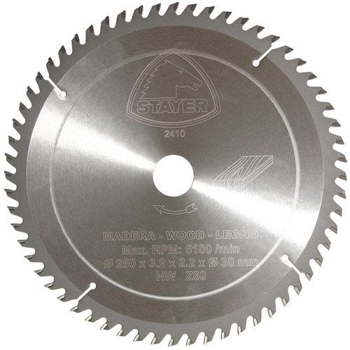 Disco widia stayer de calibre 30 mm para trabajar madera