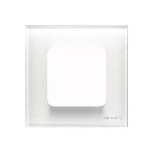 Marco individual niessen zenit cristal blanco