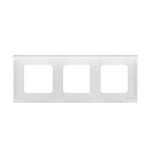 Marco triple niessen zenit cristal blanco