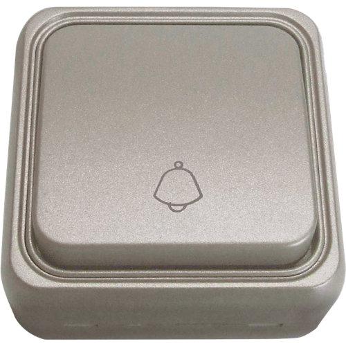 Pulsador fontini bf-18 aluminio