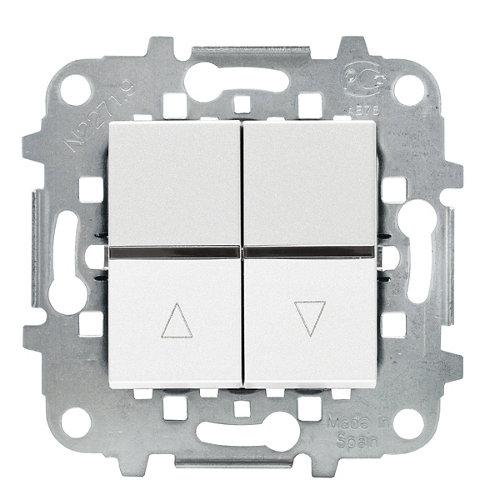 Interruptor de persianas niessen zenit blanco