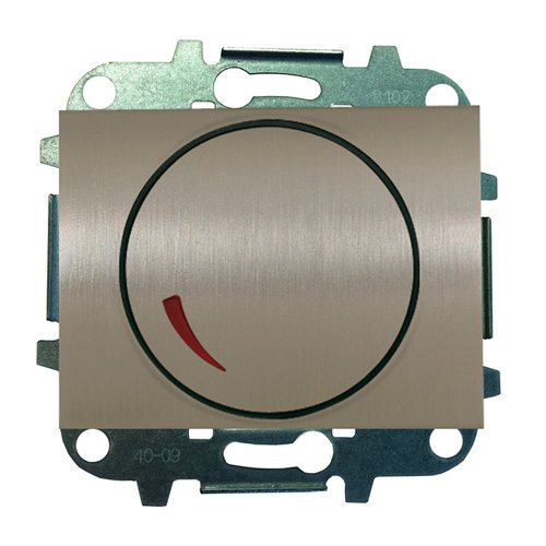 Regulador giratorio niessen olas acero