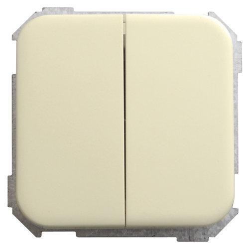 Interruptor doble simon 31 marfil