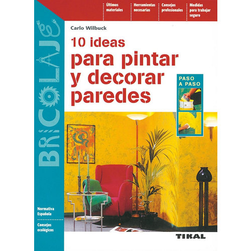 Libro pintar-decorar paredes