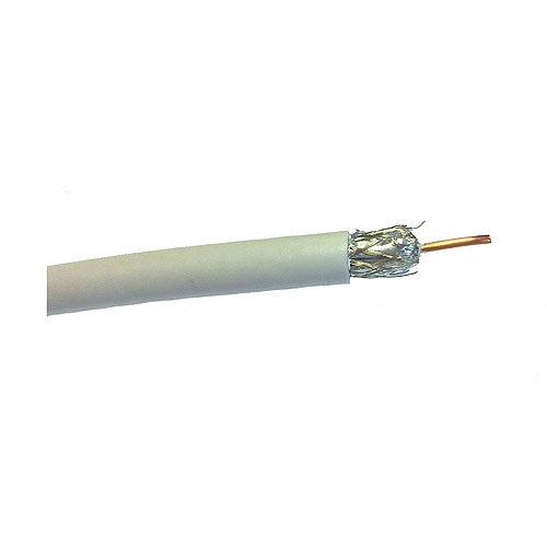 Cable de antena tv lexman blanco 17vatc 25 m 3x