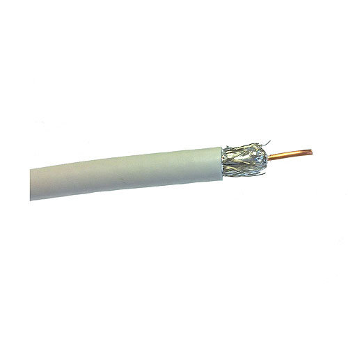 Cable de antena tv lexman blanco 17vatc 50 m